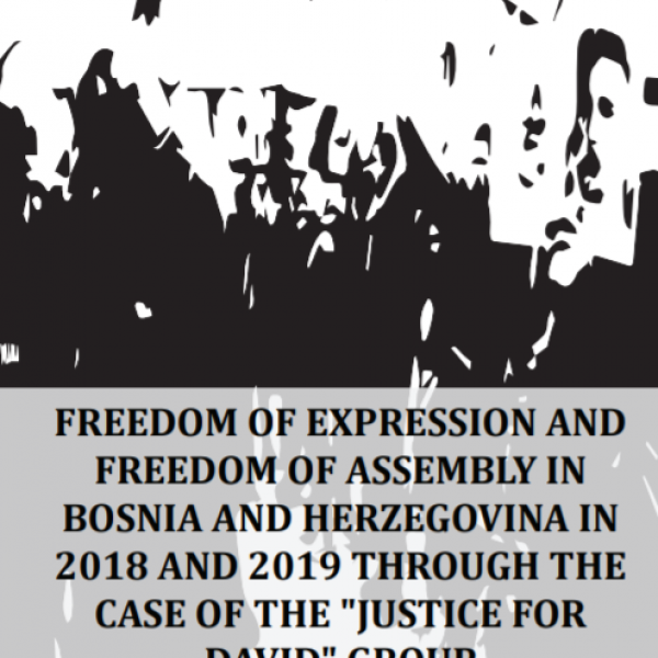 Freedom of Assembly... and Justice for David group - Dejan Lučka